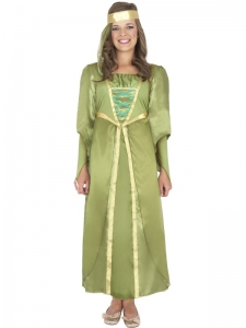 Girls Robin Hood Maid Marion Costume