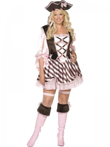 Ladies Fever Envy Pretty Pirate Costume