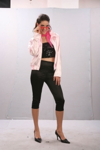 Pink Ladies Jacket and leggings set