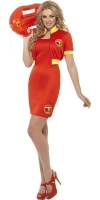 Ladies Baywatch Lifeguard Dress Costume
