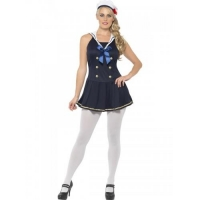 Ladies Navy Sailor Costume