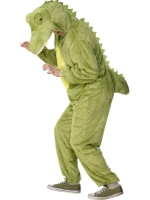 Adults Fleece Crocodile Costume Deluxe