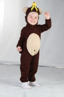 Monkey Toddler Costume 2-4 yrs