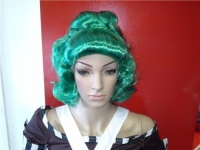Blue Oompa Loompa Fancy Dress Wig
