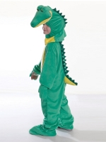 Childrens fancy dress crocodile costume 128cm