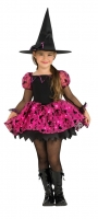 Girls Halloween Light up Moonlight magic  witch Costume