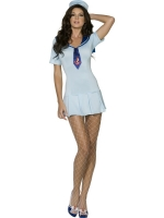 Ladies Fever Shipmate Sweetie Sailor Costume