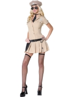 Ladies Fever Sultry Sheriff Costume