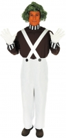 Adults Oompa Loompa Factory Worker Costume