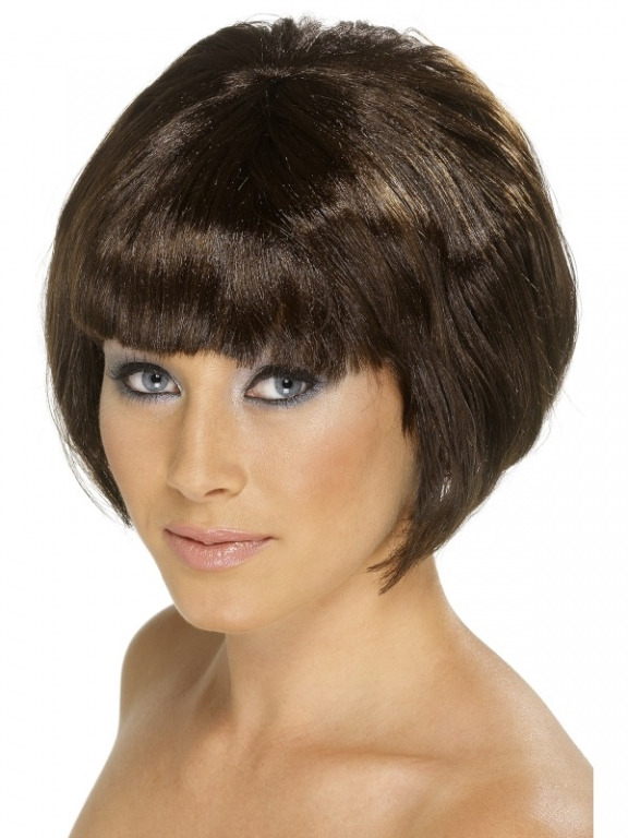 Short Brown Bob Wig