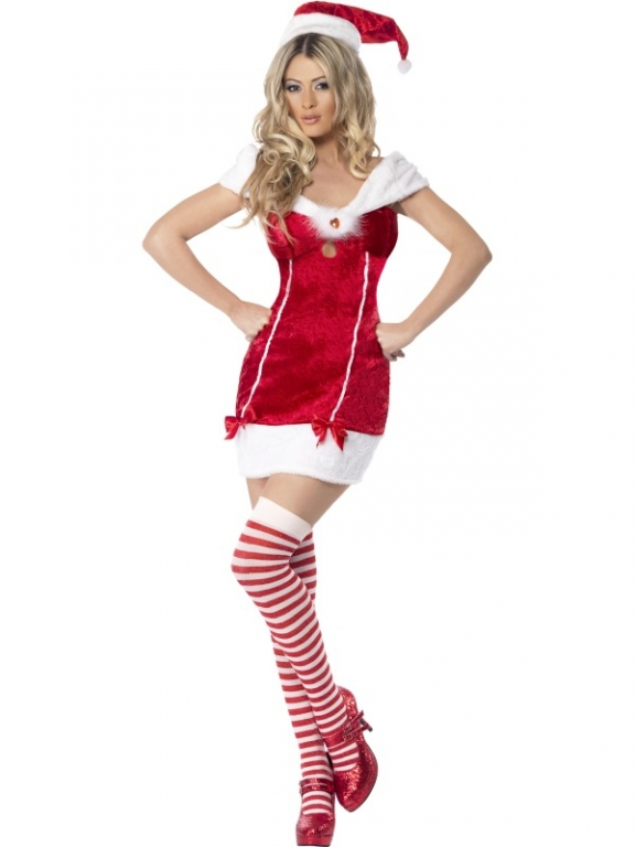 Ladies fever santa stocking filler costume