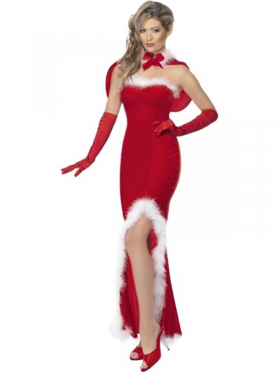 Ladies santa siren costume
