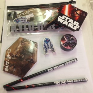 Starwars episode 7 pencil case and accessories party bag filler