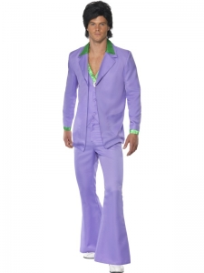 1970's Lavender Fancy Dress Suit