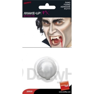 Halloween Fancy Dress Fang Fixing Adhesive Putty