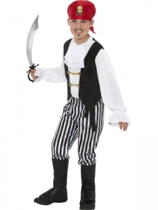 Pirate ​Boy Fancy Dress Costume