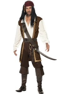 Carribean High Seas Pirate Costume