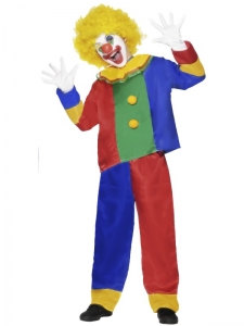 Kids Funny Clown Costume