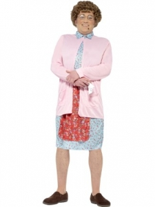Mrs brown padded costume fancy dress