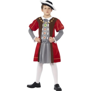 Boys Henry VIII Horrible Histories Tudor Fancy Dress Costume