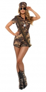 Fever Army jumpsuit Costume
