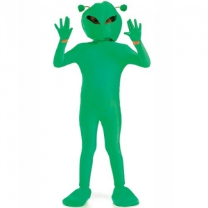 Childs Space Alien Costume