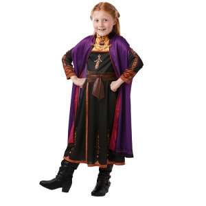 Girl's Disney Frozen Elsa Deluxe Fancy Dress Costume