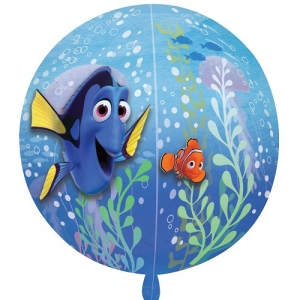Finding Dory Orbz Foil Balloon Celebration Party Decoration 25""
