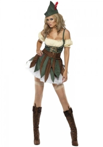 Ladies Robin Hood Outlaw Costume