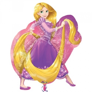 Rapunzel SuperShape Foil Balloon Disney Birthday Party Decoration