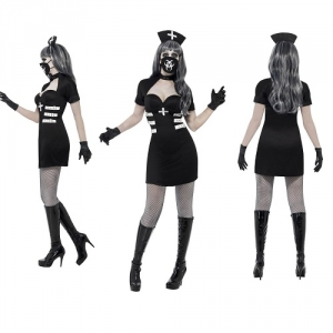 Ladies Nurse Delirium Halloween Fancy Dress Costume