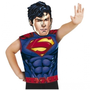 Childrens Superhero DC Comics Superman Fancy Dress Party Pack Kit