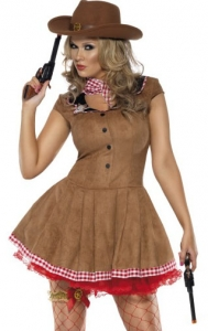 Fever Wild West Cowgirl Costume