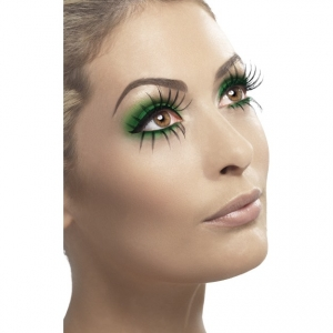 Gothic Manor Ghost Bride Halloween Eyelashes