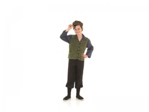 Victorian school boy costume