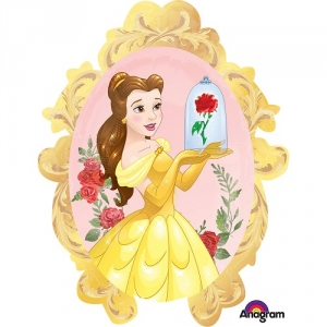 Beauty  The Beast SuperShape Foil Balloon Disney Birthday Party Decoration