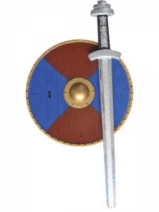 Fancy dress accessory Weapons Set With Sword and Sheild
