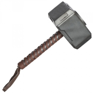 Thor Hammer Marvel Weapon Avengers Fancy Dress Accessory