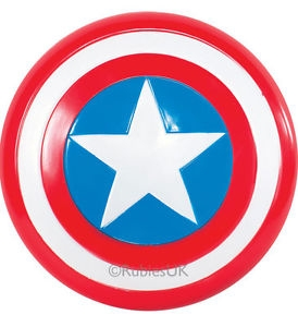 Captain America sheild fancy dress accessory