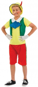 Childrens Pinocchio Fairytale Costume