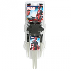 Ninja Hero Deadpool Marvel Weapon Set Fancy Dress Accessory