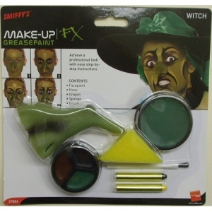 Witches Make up set with Nose