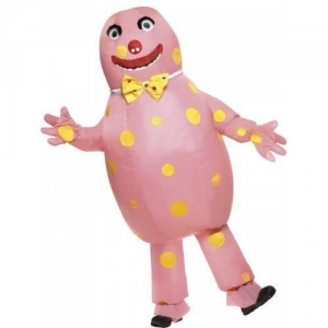Mens / Ladies Mr Blobby Inflatable Adult Fancy Dress Costume