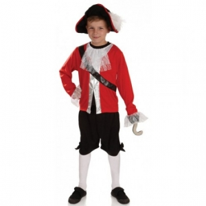Captain Hook Childrens Pirate Costume
