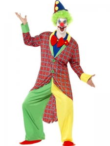 Deluxe La Circus Clown Costume