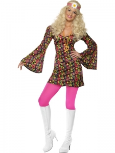 Ladies CND 60's & 70's Costume