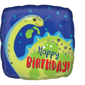 Happy Birthday Brontosaurus Dinosaur Party Balloon