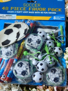 Championship Football Party 48 Piece Favour Pack