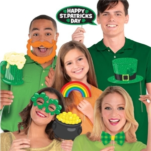 St Patrick's Day Photo Booth Props Party/ Celebration Accessory