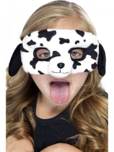 Child Plush Eyemask,Dalmation unisex one size